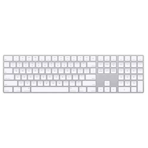 Apple Magic Keyboard With Numeric KeyPad Us English MQ052HNA price in chennai
