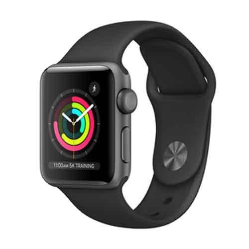 Apple Watch Series 3 GPS 38mm MTF02HNA price in chennai